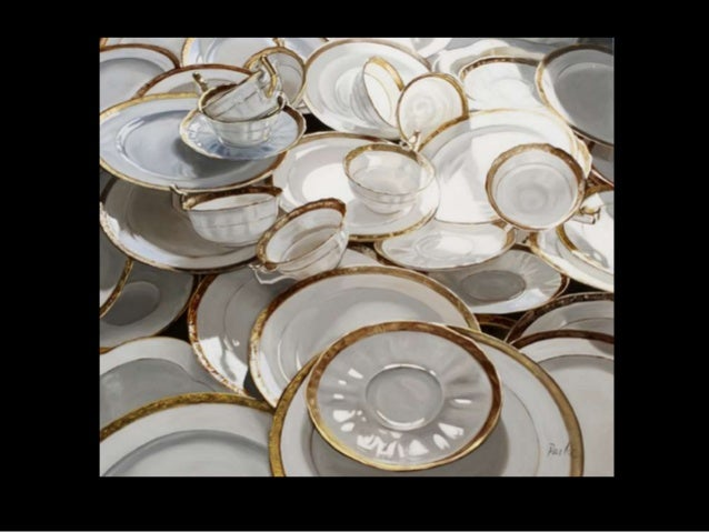 Leslie Parke Paintings of Porcelain