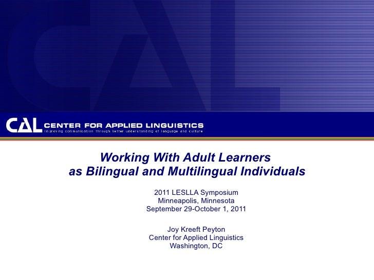 Leslla 2011 adults as multilingual individuals final 9.27.11