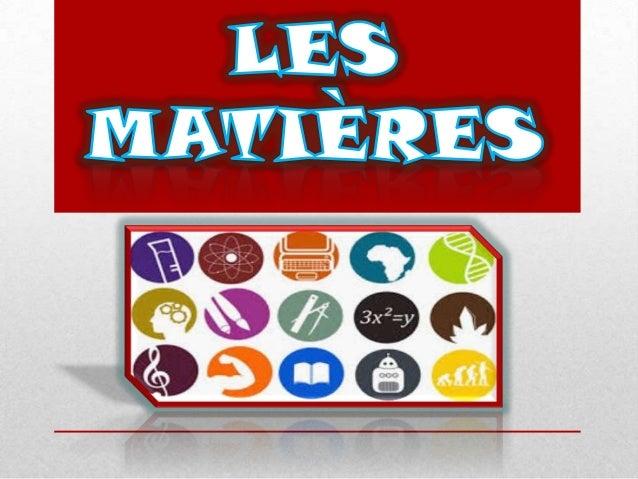 Les Matières (Javier Robles)