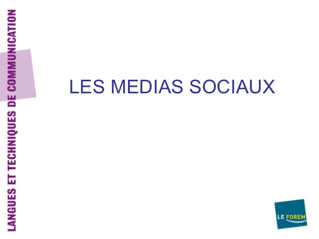 Les medias sociaux diwef