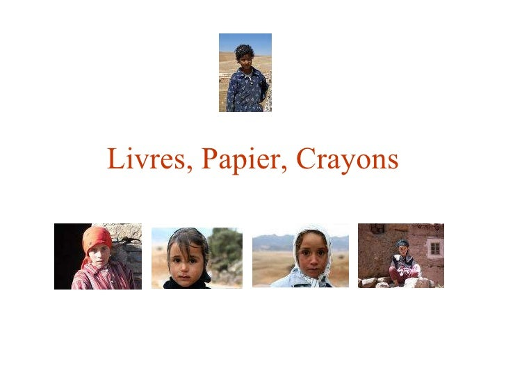Livres, Papier, Crayons (LPC)