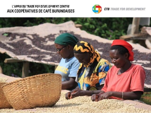 Evolution récente du secteur du café au Burundi01 • Le café au Burundi (p.4) • Un secteur en crise (p.5) • Une privatisati...