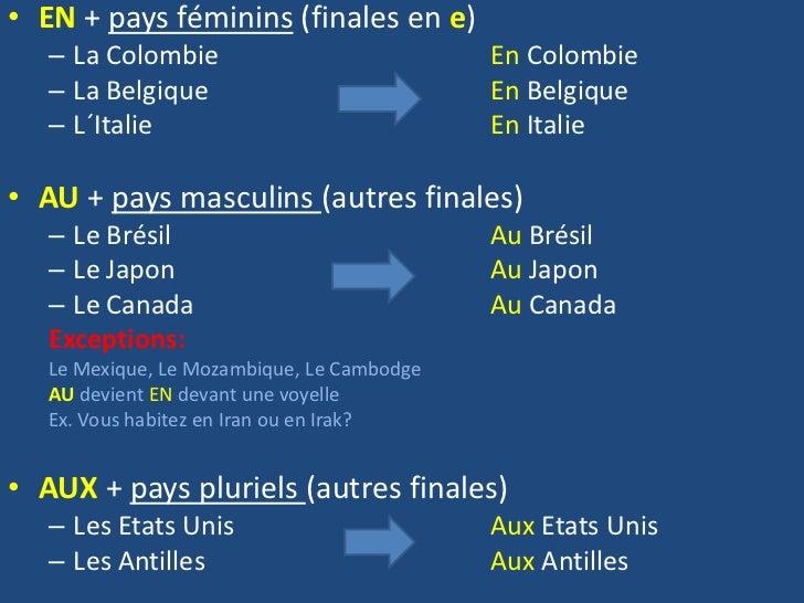 Przyimki występujące z miastami i krajami - gramatyka 6 - Francuski przy kawie