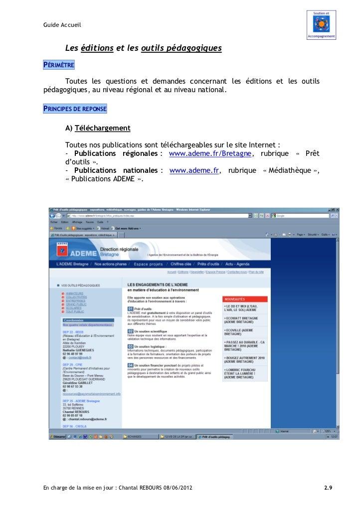 Guide Accueil        Les éditions et les outils pédagogiquesPÉRIMÈTRE      Toutes les questions et demandes concernant les...