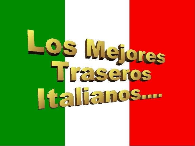 Les plus beaux_culs_d'italie