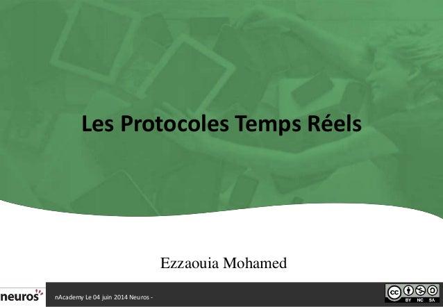 Les protocoles temps réels