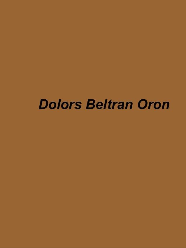 Dolors Beltran Oron