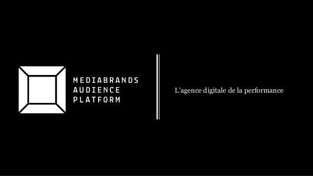 L'agence digitale de la performance