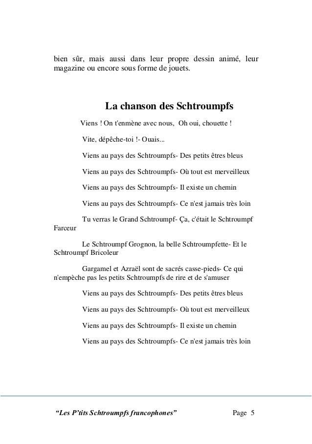 Les schtroumpfs francophones - Comment dessiner schtroumpfette ...