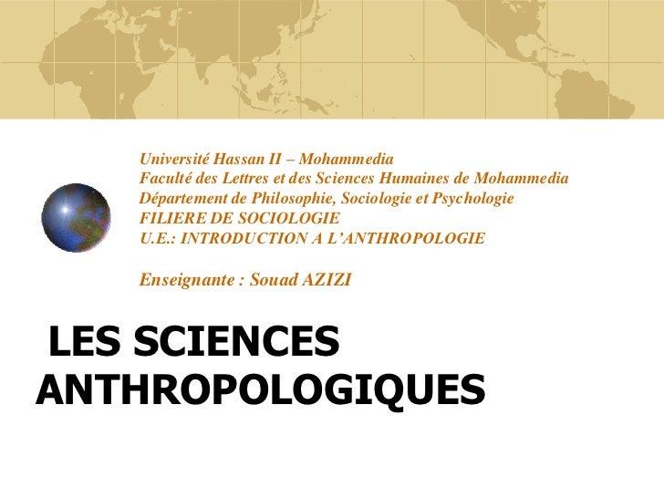Université Hassan II – Mohammedia   Faculté des Lettres et des Sciences Humaines de Mohammedia   Département de Philosophi...