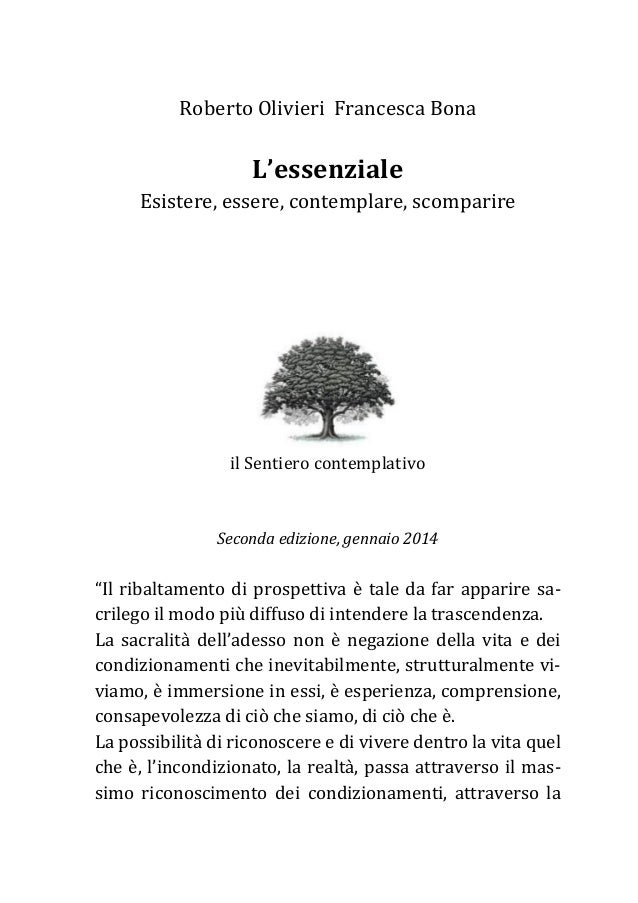 L'essenziale (seconda edizione, gennaio 2014)