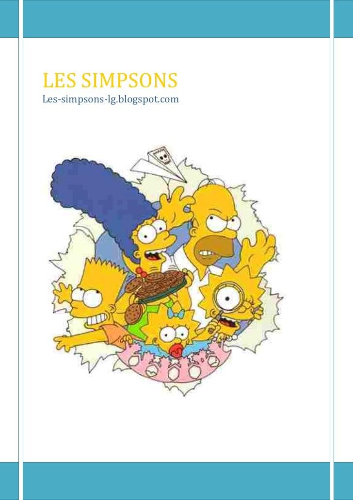 LES SIMPSONSLes-simpsons-lg.blogspot.com