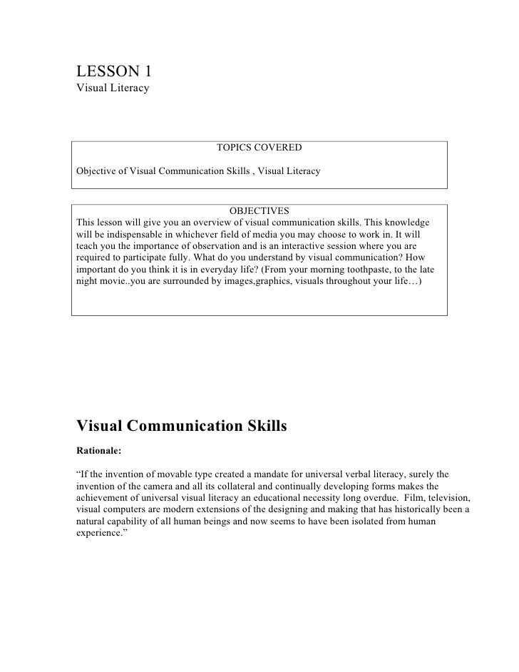 IVC - Lesson 01