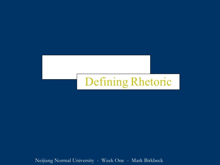 Lesson 1   Defining Rhetoric