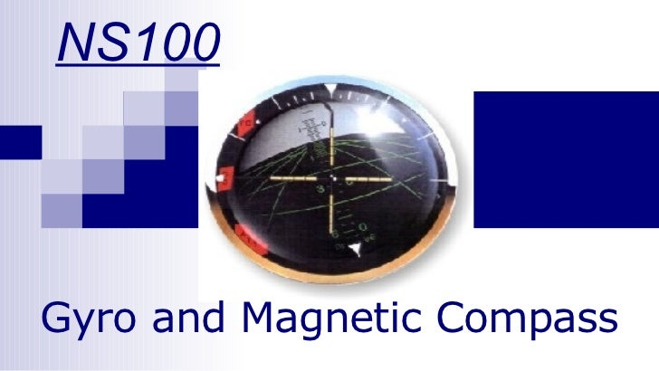 NS100 Gyro and Magnetic Compass