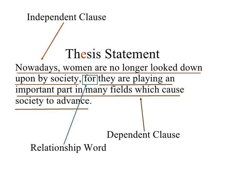 qualifying essay thesis I need a thesis statement on feminism  this vital information should be included in your thesis essay, and would almost serve as a very brief, sentence-long summary of your essay for example .
