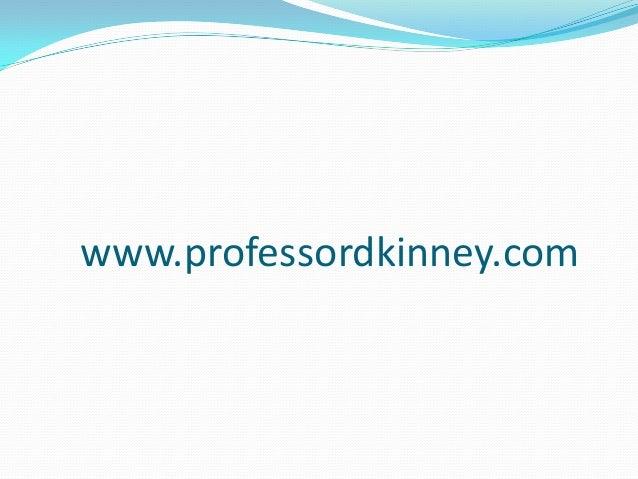 www.professordkinney.com