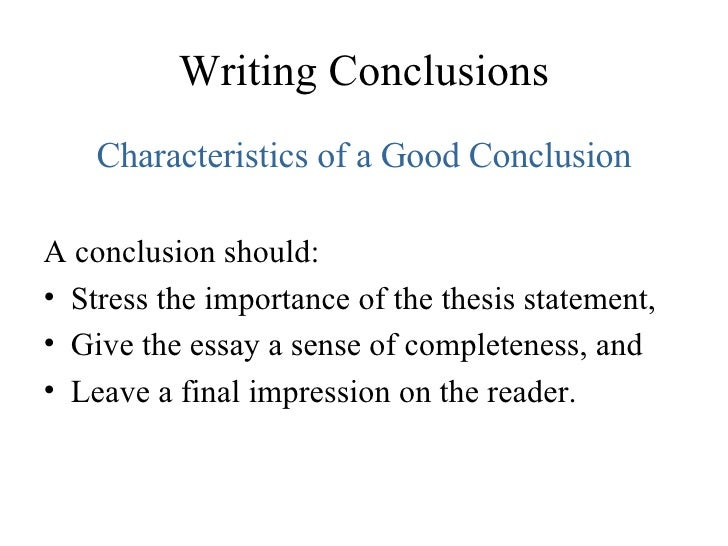 space essay conclusion Conclusion i feel that the space race was a turning point in history because it showed the american people that if they unite and work their hardest for a common.
