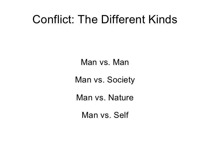 definition of conflict in literature pdf
