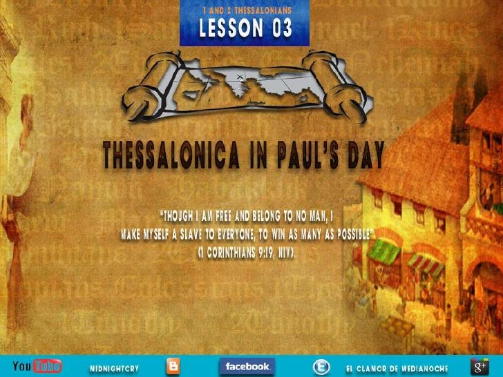 "LESSON 03 ""THESSALONICA IN PAUL'S DAY"""
