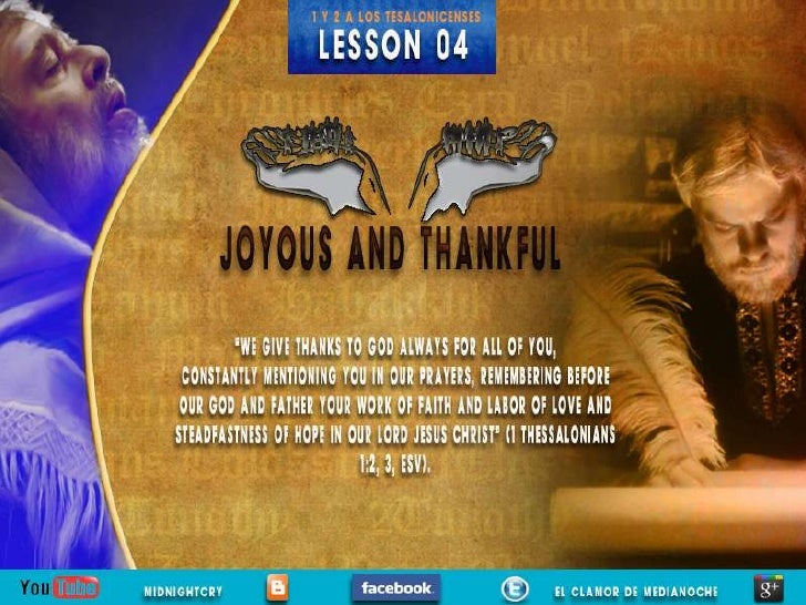 LESSON 04                                                        Sabbath Afternoon                opens his first letter t...
