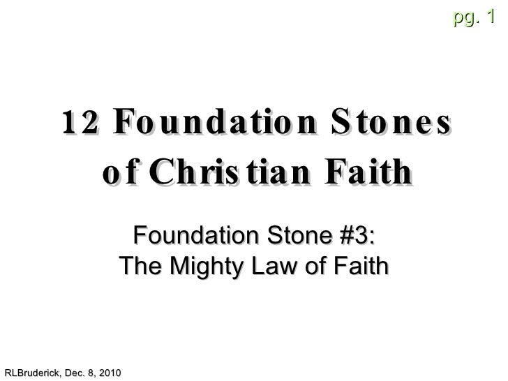 Foundation Stones 05