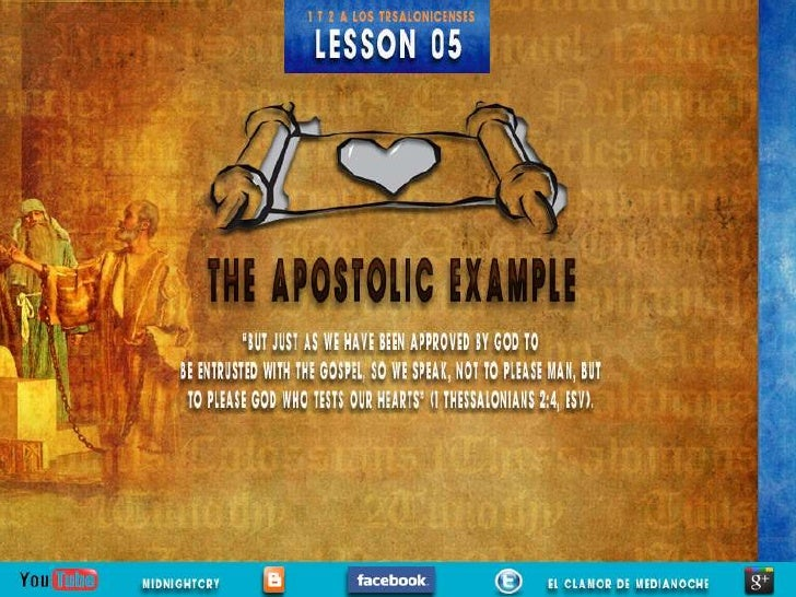 LESSON 05                                                        Sabbath AfternoonThis week's lesson marks a major transit...