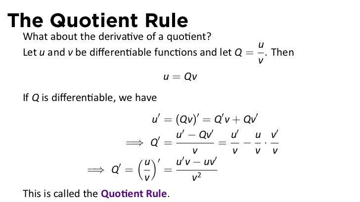 product rule worksheet