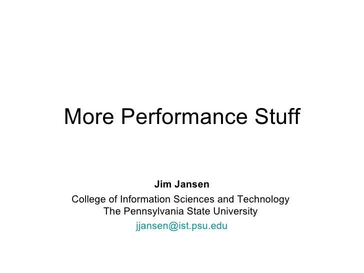 Lesson 09 Ist402 Performance Metrics 02