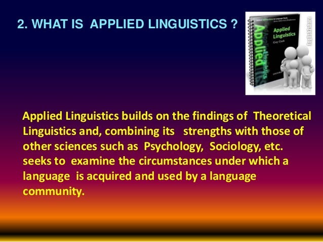 applied linguistics 1 essay Uew applied linguistics 4 papers in applied linguistics 12 representation of sounds in ewe the second most popular indigenous ghanaian language is ewe with approximately 20% of the country's population using it ewe is the main language of the volta region of ghana there are three distinct dialects of the ewe spoken in ghana.