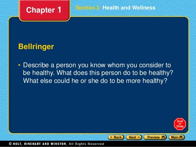 Lesson1 2-healthand wellness