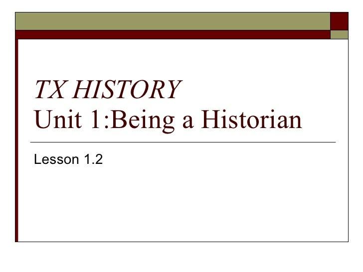 Lesson 1.2 texas history v2003