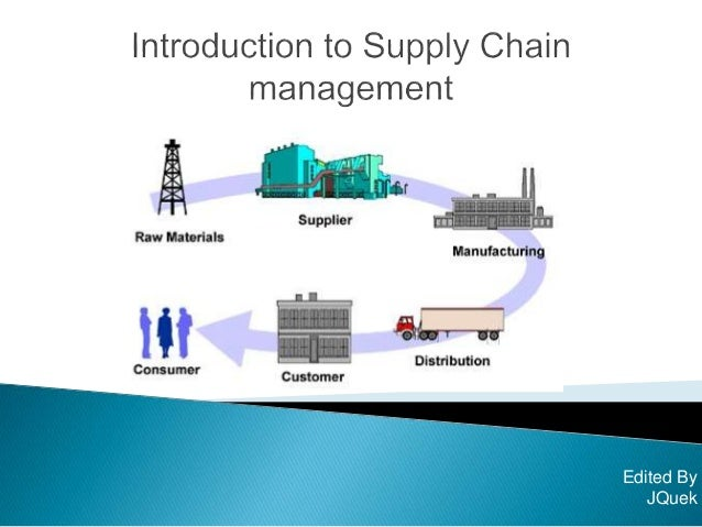 Logistics and Supply Chain Management study instruction