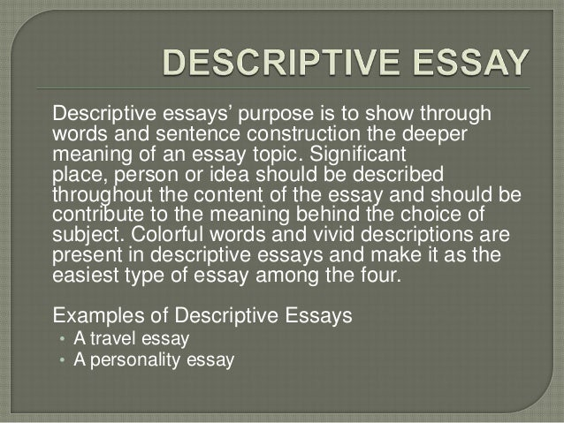 advertisement description essay
