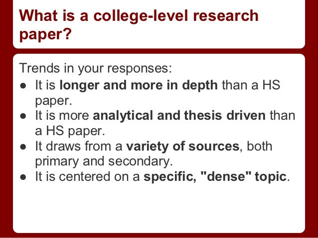 How To Develop A Thesis Statement For A Research Paper