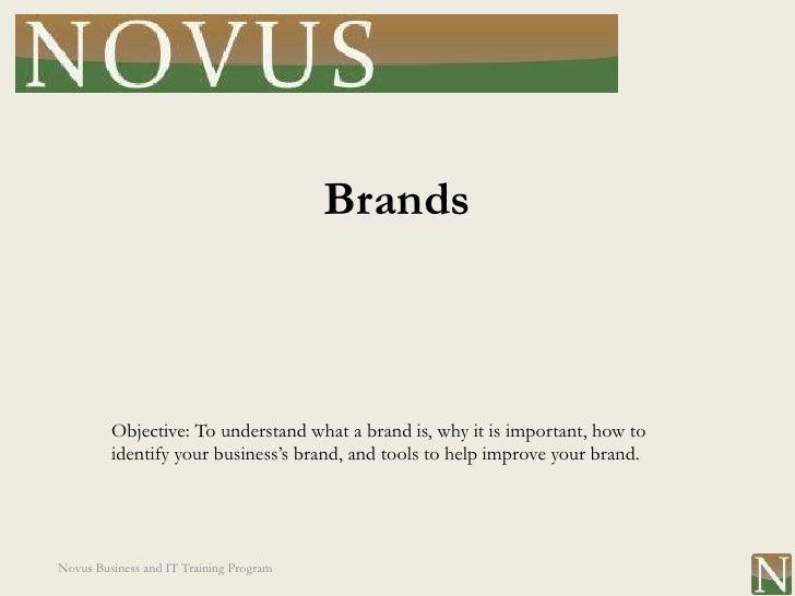 Lesson 10: Brands