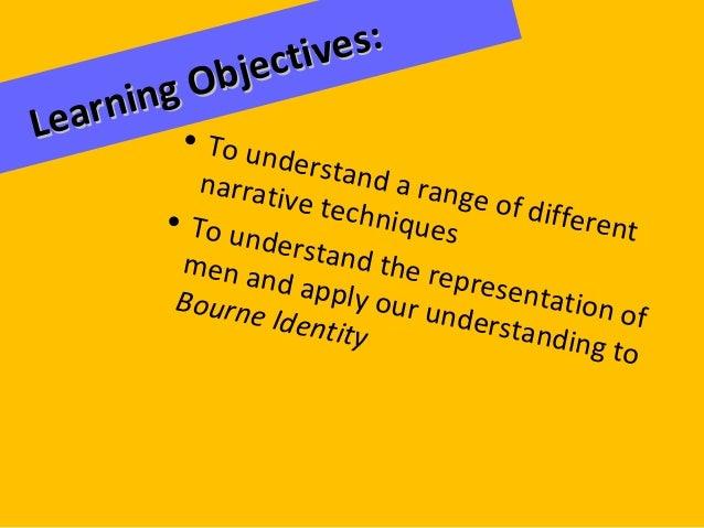 GCSE Media Action Adventure Lesson 8 - Representation in Bourne