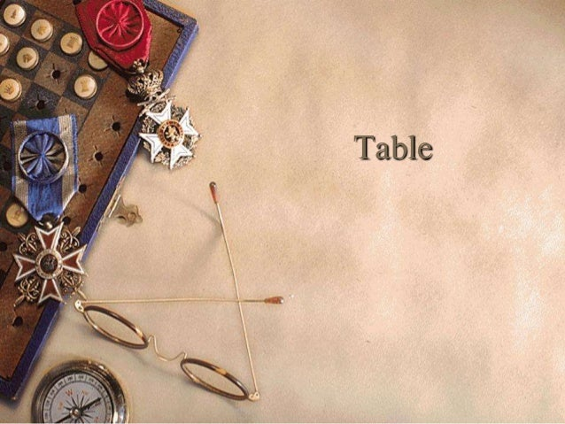 Table in MS Frontpage 2003