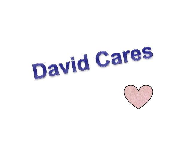 Lesson 12 david cares