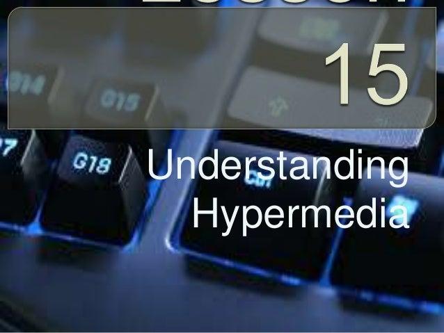 Understanding Hypermedia