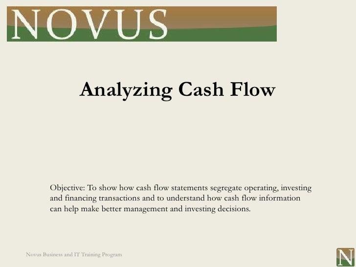 Lesson 19: Analyzing Cash Flow