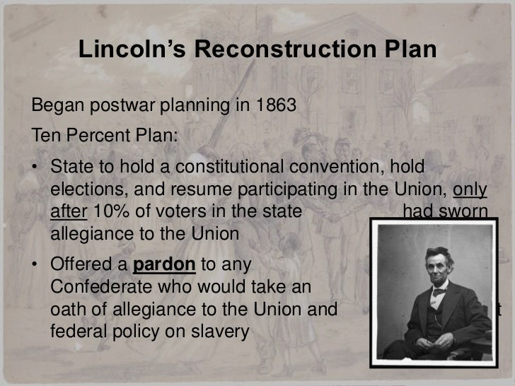 reconstruction policies for the south The term scalawag was applied both to entrepreneurs who supported republican economic policies and whig planters who had opposed secession carpetbaggers: carpetbaggers were northerners who went to the south during reconstruction they carried their belongings in carpetbags.