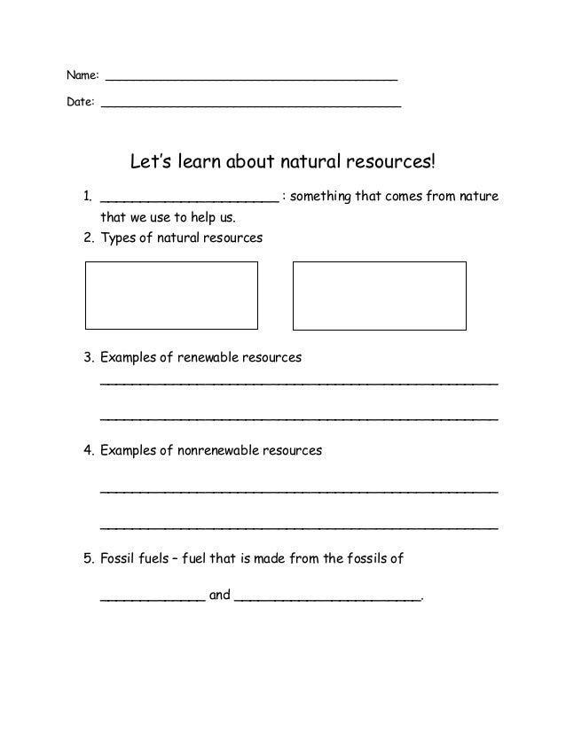 Fossil Worksheet – Fossil Worksheet