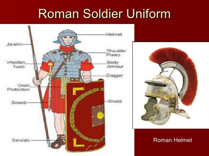 Roman Army Uniform Lesson 2 italian history