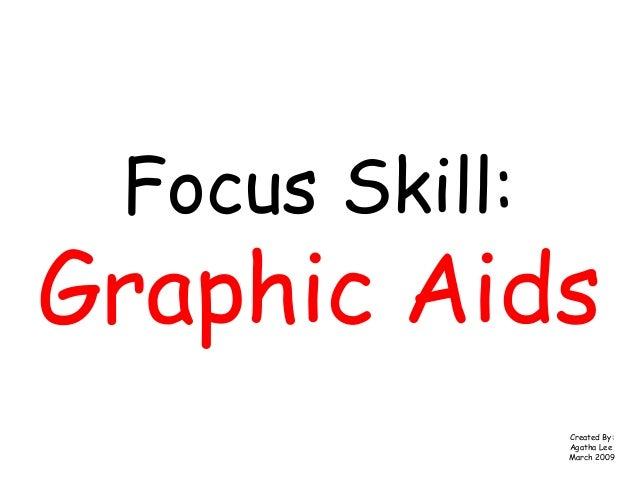 Focus Skill:Graphic AidsCreated By:Agatha LeeMarch 2009