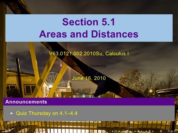 Lesson 24: Area and Distances