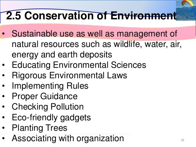 Environmental and Wildlife Management physics sydney