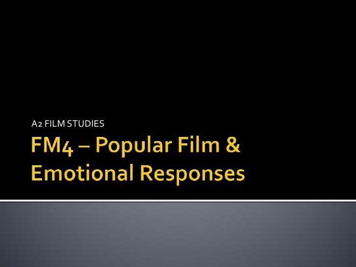 Lesson 2 Film as Consumption
