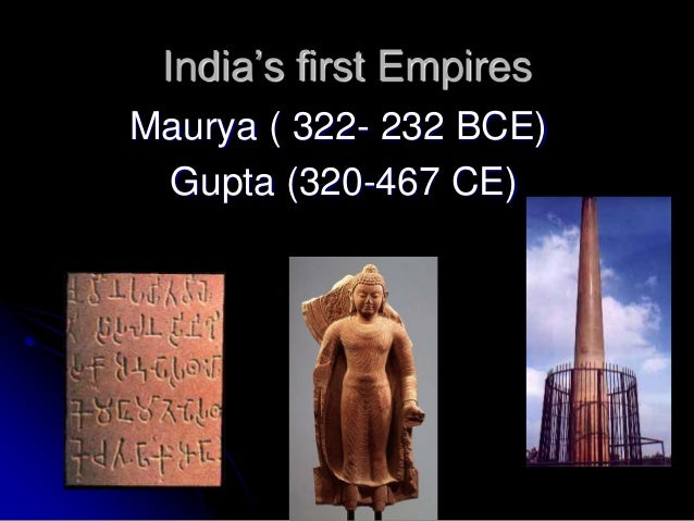 contributions to india from maurya empire Mauryan empire, india's first empire, shaped by buddhist teaching invasion,  political  epics recognized women's independent contributions stories of.