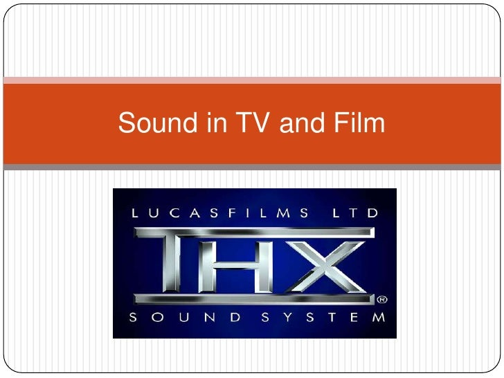 Sound in TV and Film<br />